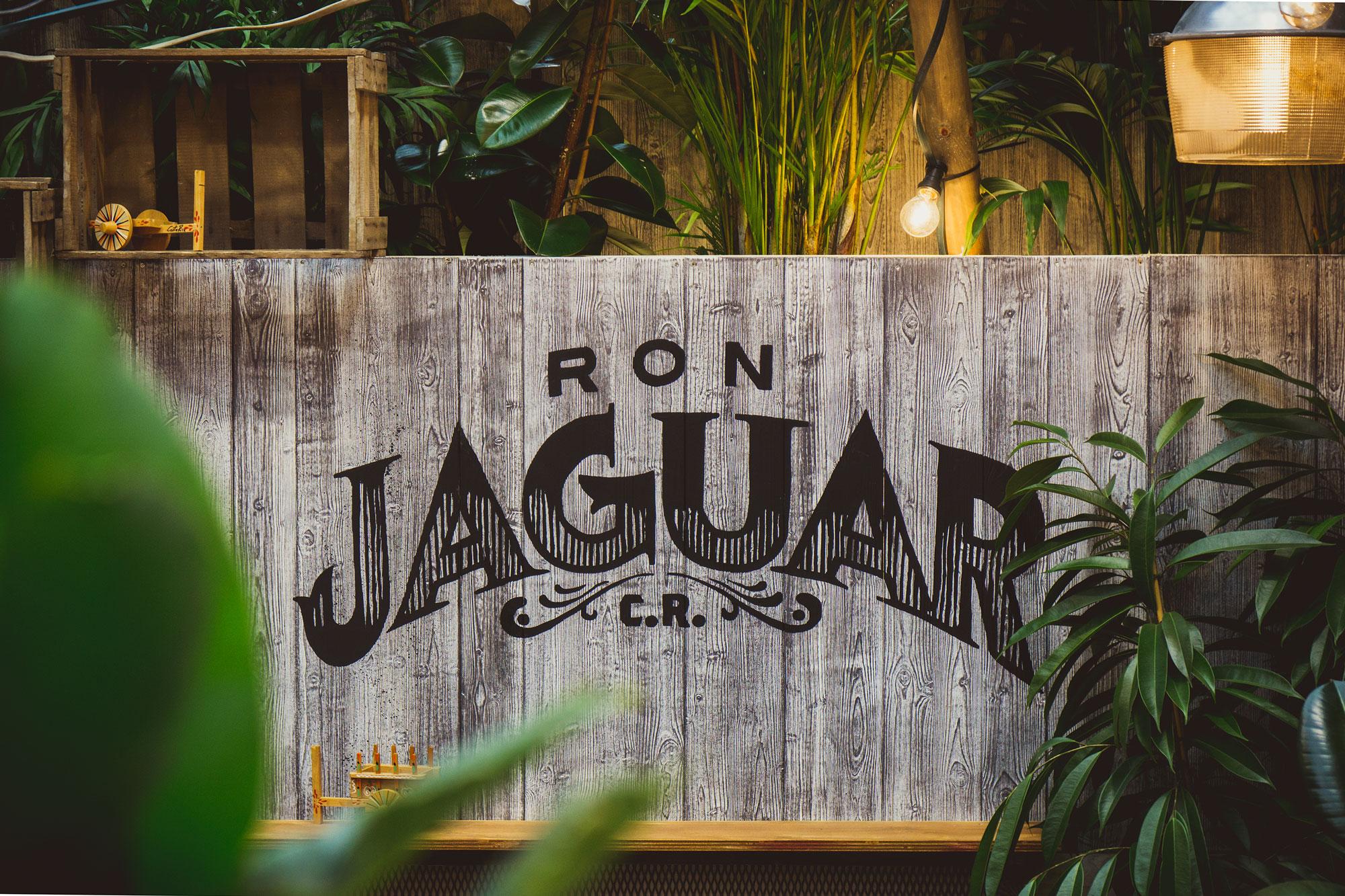 RON Jaguar Messeauftritt auf der Bar Convent Berlin 2017 durch Handwerk+Design, Herstellerlogo