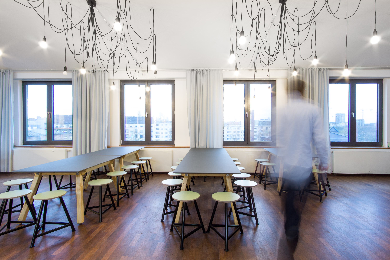 Flaconi Headquarter in berlin, Openspace office, coworking